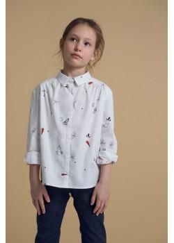 """Блузка с принтом """"Джейн"""""""