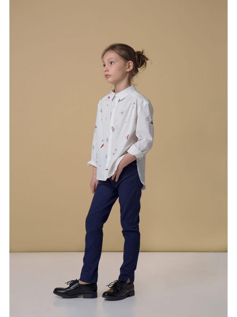 """Школьные брюки для девочки """"Скинни Стрейч"""""""